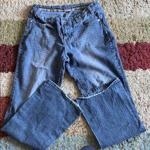 Wide leg Charcoal grey jeans